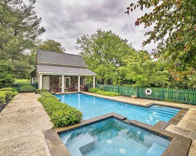 Historic Virginia Wine Country Villa w/Pool & Yard - Hume