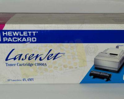 HP Laser Jet C3900A Printer Toner Cartridge New Sealed in Box - HP 00A - 4V, 4MV