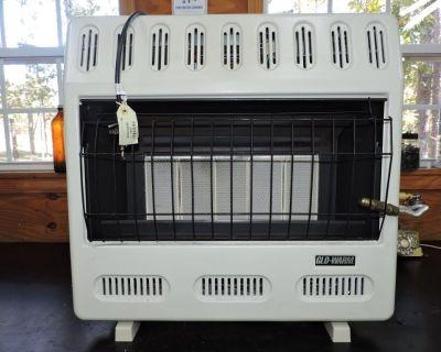 2 Infrared propane heaters like new.