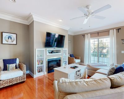 Loggerhead townhouse with gas grill, WiFi, and jetted tub! - Bethany Beach