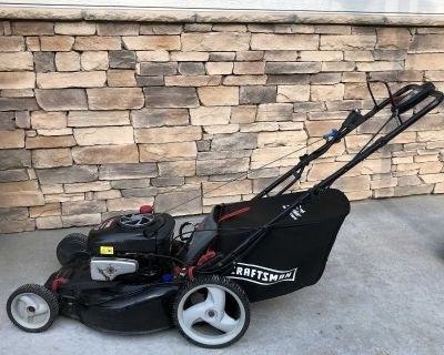 Craftsman Self-Propelled Lawnmower with Easy Push Start