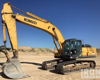 2015 Kobelco SK350LC-9E Track Excavator