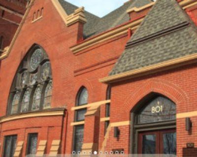 Repurposed Victorian-era church in popular Nulu district, Louisville, KY