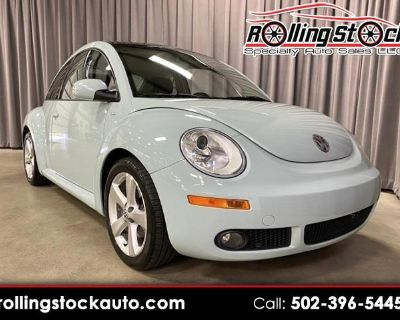 Used 2010 Volkswagen New Beetle 2.5L PZEV