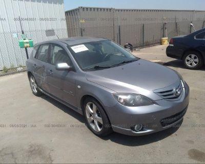 Salvage Gray 2005 Mazda Mazda3
