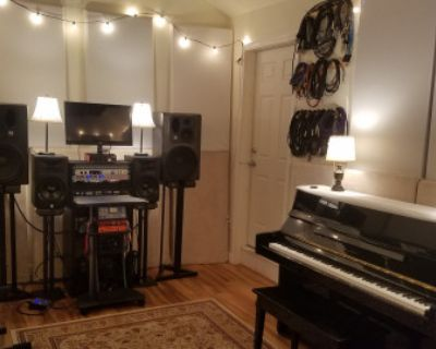 Recording studio/rehearsal/creative/ space in Philly suburbs, well equipped and acoustically treated., Hatfield, PA