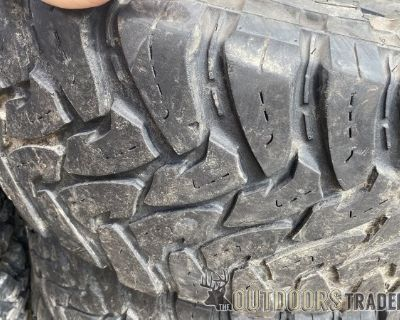 FS 37x12.50x20, 35x12.50x20, 315/60/20 and 33x12.50x20 TIRES