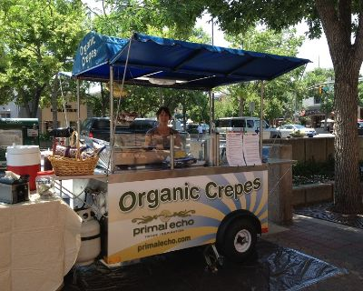 Crepe Cart and Associated Kitchen Equipment in Boulder, CO