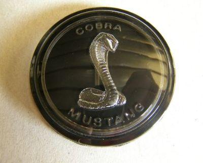 Nos 1979 Ford Mustang Cobra Dash Emblem Ornament
