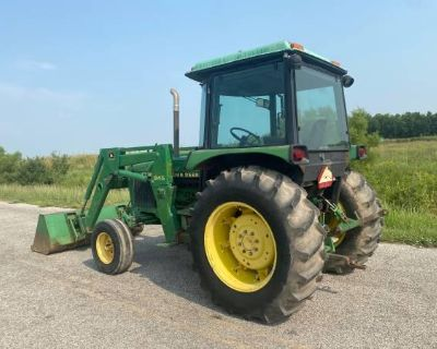 2355 John Deere Tractor with Cab & Loader