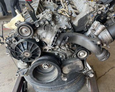 blown e63 running condition engine