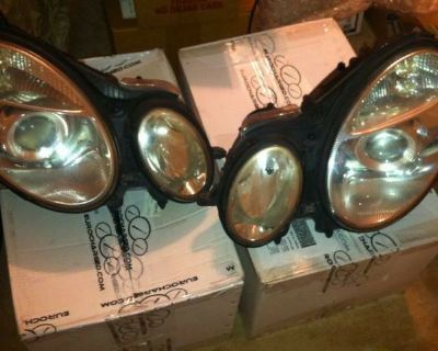 FS: E55 w211 xenon/self leveling headlights