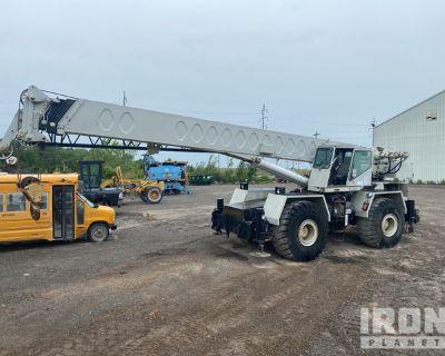 1989 Link-Belt HSP-8050 50 ton 4x4 Rough Terrain Crane