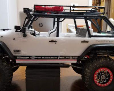 Axial SCX10 Jeep Rubican CRC edition.