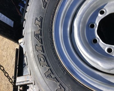 Tire Lt 235-85-r-16. 10 ply reduced