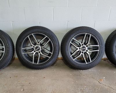 FS:USA-PA-PICKUP Winter Wheels and Tires with TPMS 205 55 16