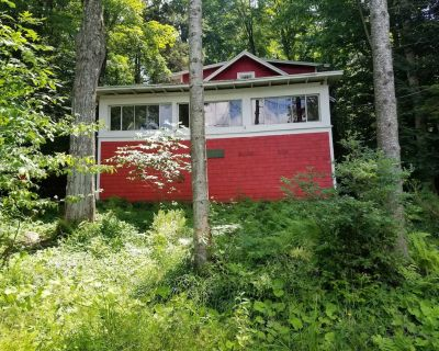 Seasonal 3 bedroom camp, with private dock, cable tv, propane grill . - Caroga Lake