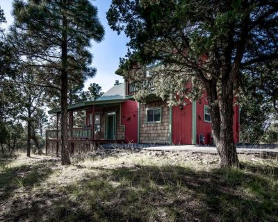 Sit back and enjoy the tall pines at Alhambra - Ruidoso