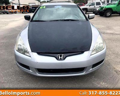 2004 Honda Accord EX V-6 Coupe 6-Speed MT with XM Radio