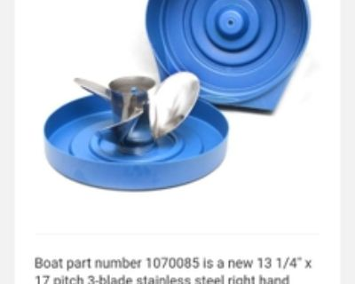 Rapture Stainless Prop for Mercury outboard