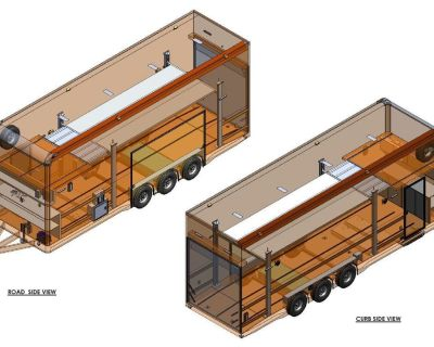 2020 ATC Trailers 30' Belly Lift Stacker