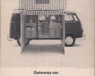 3/1964 1 Page Bus Transporter Camper Print Ad #31