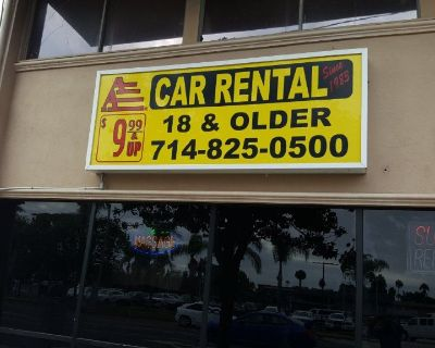 Profit Making Car Rental Business for Sell