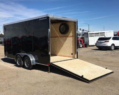 7x16 Roadforce Cargo Trailer, Tandem Axle ATV Trailer, Wells Cargo Enclosed Trailer RFV716T2