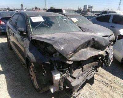 Salvage Black 2012 Volkswagen Jetta Sedan