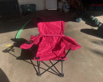 Kids collapsible camping chair