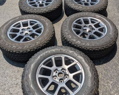 Illinois - Set of 5 80th Anniversary wheels& tires w/tpms