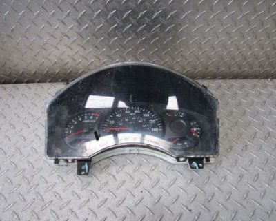 04 Nissan Titan Instrument Cluster Speedometer Mph 4x2 Xe 8cyl 4dr