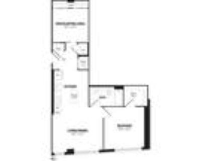 Crystal Flats - 1 Bedroom+ Den, 1 Bath 848 SF B21