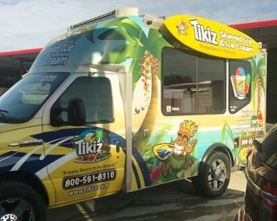 Shaved Ice and Ice Cream Food Truck Business Opportunity in Valrico