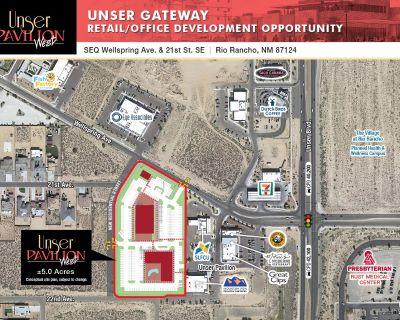 Unser Gateway Retail/Office Development Opportunity