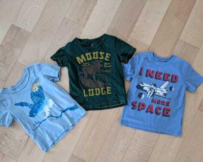 Peek t-shirts size 2/3
