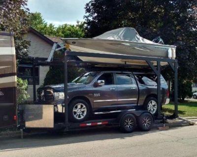 2017 Built-Rite Open air stacker trailer