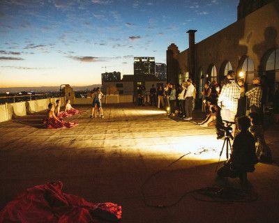 Indoor / Outdoor Loft Space+Rooftop Oasis. DTLA Skyline Views, Workshops, Events, and Filming, Los Angeles, CA