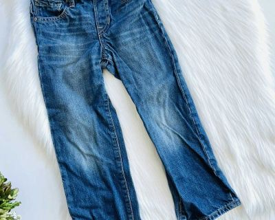 Boys Gap Pull On Straight Leg Jeans - Sz 5