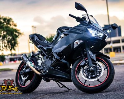 2019 Kawasaki Ninja 400 Sport Houston, TX