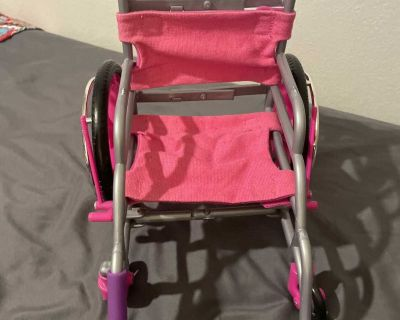 Wheel chair for 18 dolls