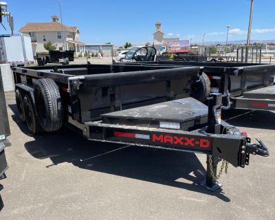 """2021 MAXXD TRAILERS 14' X 83"""" I-BEAM DUMP Trailer Paso Robles, CA"""