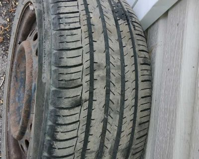 Tires 205 55R16 with RIMS!!!
