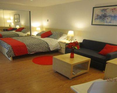 STUDIO beautifully furnished, PrivetSmart TV Wii fii, hardwood floors - Glassell Park