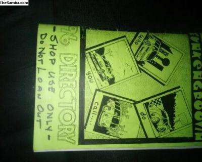 funken groovin 96 directory of vw repair shops and