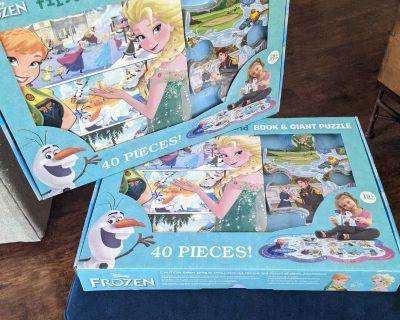 Frozen book/puzzle