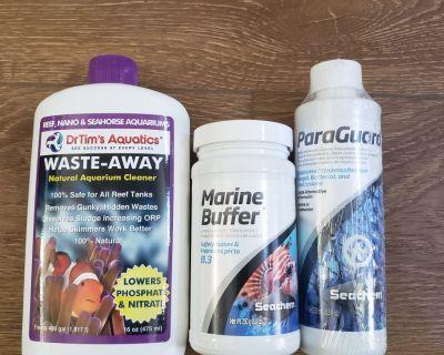 Marine buffer, waste away,  paraguard