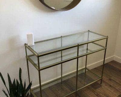 Structure side table / console table