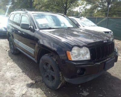 Salvage Black 2006 Jeep Grand Cherokee