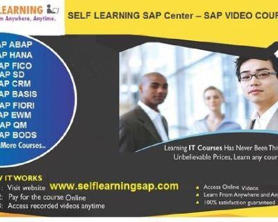 SAP/Hadoop/IBM Datastage /MSBI/Informatica  Online Video Courses